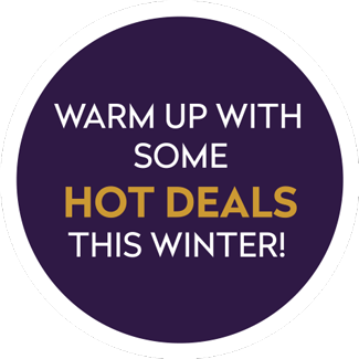Warm up with some hot deals this winter!